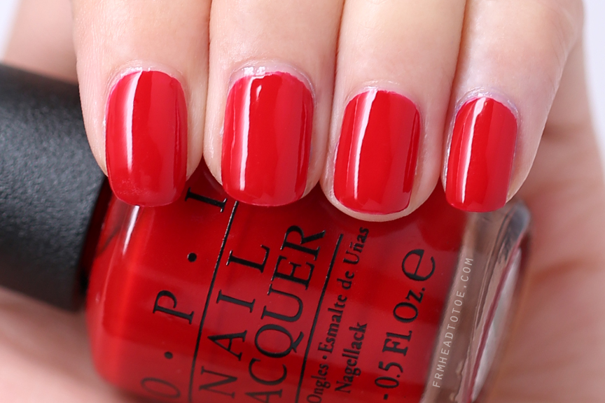 Coca Cola Red by OPI
