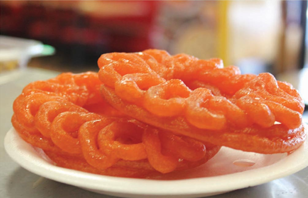 Halwa And Jalebis