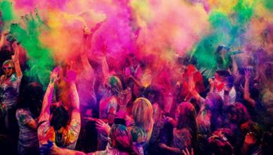 Holi Celebration Ideas for Office